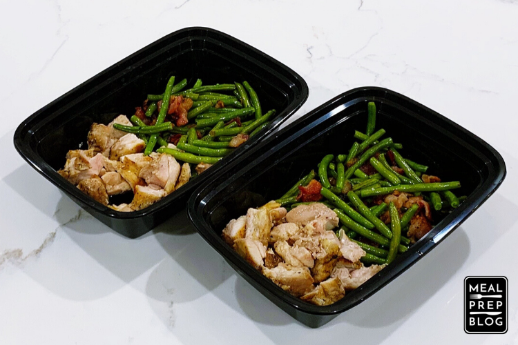 Easy Grilled Chicken With Green Beans And Bacon