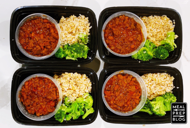 Simple and Easy Classic Chili for Healthy Meal Prep